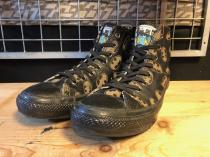 converse ALL STAR LEATHER BM HI (ブラック) USED