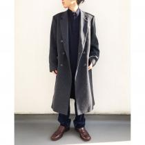 【 Doublebreasted wool long coat 】 recommend for Men.