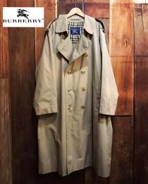 【 BURBERRY 】 Double-breasted trench coat recommend for Men.