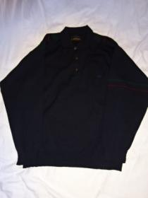 1990's Switched Design Polo-Collar Sweater