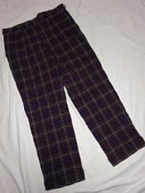 Design Check Pants