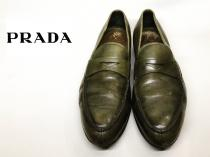 【 PRADA 】 penny loafers recommend for Men.