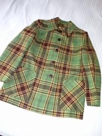 1940's Wool Check Jacket