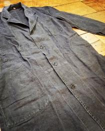 【1940s  BLACK Linen 】 recommend for Men.