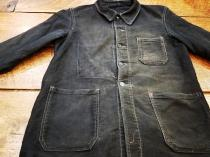 【1940s-1950s BLACK MOLESKIN】 recommend for Men.