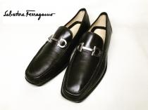 【 Salvatore Ferragamo 】 Bit loafers