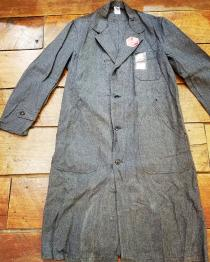 【 1950s BLACK chambray atelier coat DEADSTOCK 】 recommend for Men.