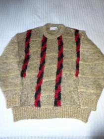 1990's Big Silhouette Design Mohair Sweater