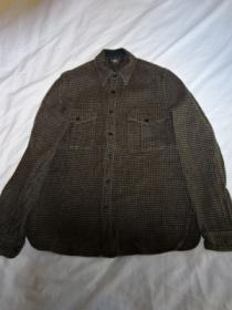Heavy Flannel Check Long Sleeve Shirt