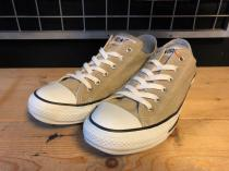 converse ALL STAR COLORS OX (ベージュ) USED