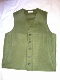 Heavy Wool Over Vest