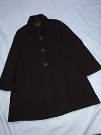 1990's Design Wool Single Coat