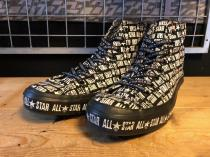 converse ALL STAR LOGOMAMIRE HI (ブラック) USED