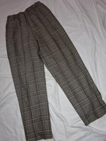 1990's Wool Check Pants