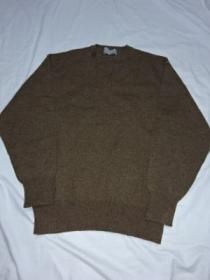 1990's Design Wool V-Neck Sweater