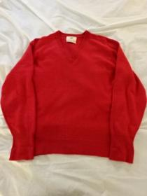 1970's Cashmere V-Neck Sweater