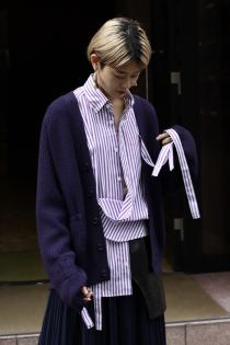 Special Item SYU.HOMME/FEMM Fake suspender Shirts for PALETTE