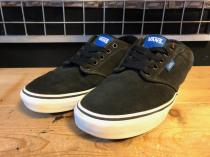 VANS CHUKKA LOW (ブラック/ブルー) USED