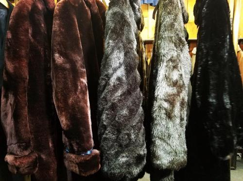 【 Fur coat 】 recommend for Men.写真