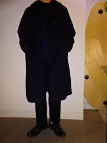 1950's Wool Single Long Coat