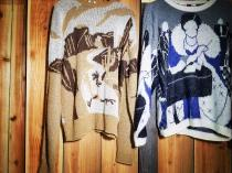 【 Whole handle knit 】 recommend for Men.