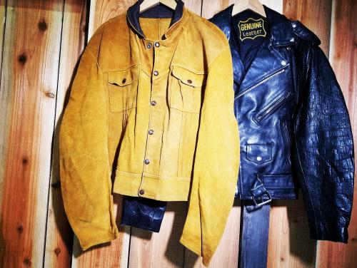 【 leather jacket 】 recommend for Men.写真
