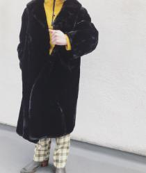 【 Fur coat 】 recommend for Men.