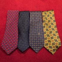 Luxury brand silk necktie