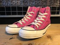 converse ALL STAR WASHOUT HI (ピンク) USED