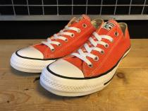 converse ALL STAR OX (オレンジ) USED