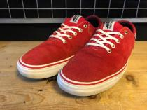 VANS STAGE 4 LOW (レッド) USED