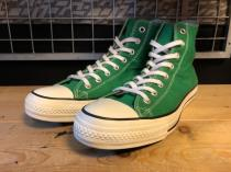 converse ALL STAR WASHOUT HI (グリーン) USED