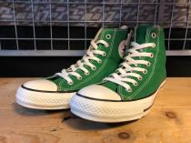 converse ALL STAR COLORS HI (グリーン) 新品
