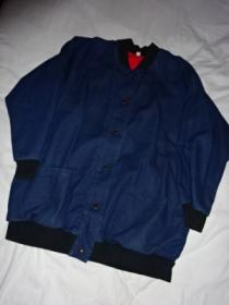 1980's Design Denim Blouson Coat