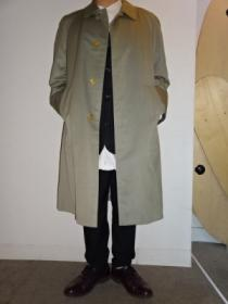 1980~90's Design Soutien Collar Coat