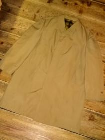 1960~70's Euro Stitched Design Soutien Collar Coat