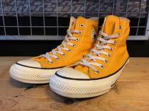 converse ALL STAR SP COLORS HI (イエロー) USED