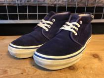 VANS CHUKKA SUEDE (パープル) USED