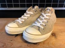 converse ALL STAR CORDUROY OX (ベージュ) USED