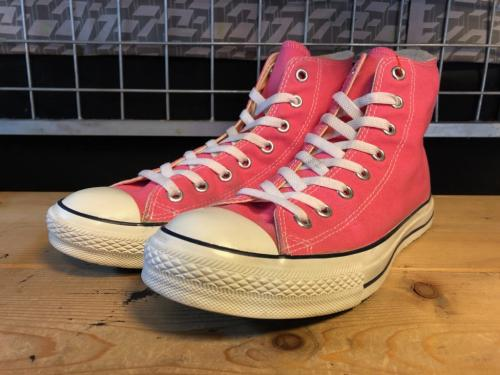 converse ALL STAR HI (ピンク) USED写真