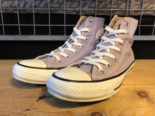 converse ALL STAR COLORS HI (パステルラベンダー) USED写真