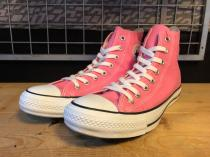 converse ALL STAR COLORS HI (ピンク) USED