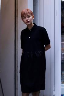 soe 2019SS New Arrival Preppy Polo Dress