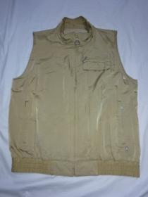 1990's Stand Collar Zip-Up Vest