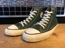 converse ALL STAR HI (ダークグリーン) USED