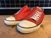 converse ALL STAR ASYMMETRY OX (レッド) USED