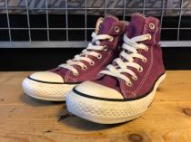 converse ALL STAR HI (パープル) USED