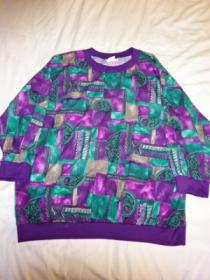 1990's Three-Quarter Sleeve Cut and Sewn