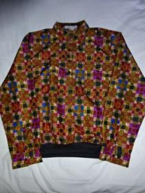 1990's Big Silhouette Design Pullover Shirt