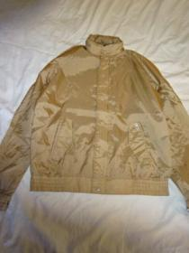 1980's Design Nylon Zip-Up Jacket